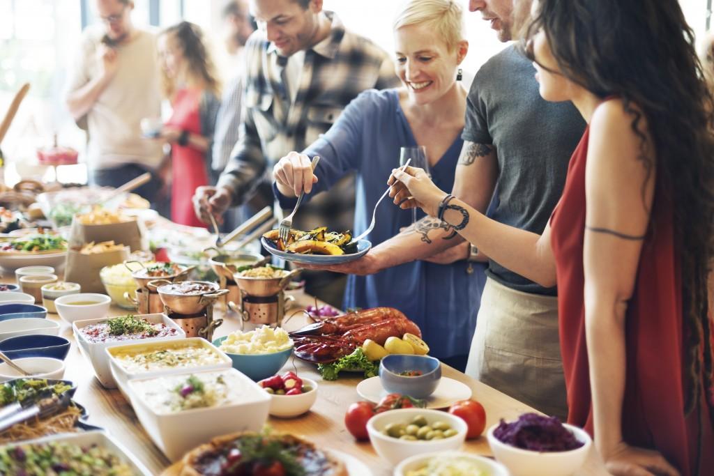 Foto de dietas y restricciones alimentarias en eventos